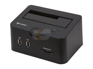 Sharkoon SATA QuickPort Pro LAN Black Hard Drive Docking