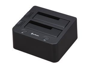 Sharkoon SATA QuickPort Duo Black Hard Drive Docking