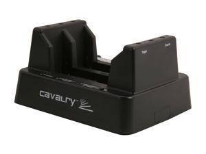 Cavalry Retriever Pro EN-CAHDD2BU3C-D Black Standalone HDD Duplicator + Dual-Bay Dock With RAID 1
