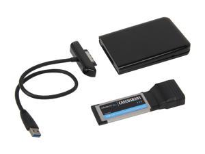 Cavalry CAUSM2001E Black USB 3.0 Upgrade Cable with Case for Seagate FreeAgent GoFlex - OEM
