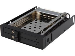 "ENERMAX EMK3201 Mobile Rack - 3.5"" drive bay designed for two 2.5"" HDD or SSD"