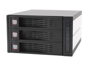 "KINGWIN KF-3000-BK 3.5"" Internal hot swap rack raid-3 bay"