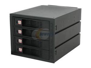 KINGWIN KF-4001-BK SATA Internal Hot Swap Rack 4 Bays w/ Fan