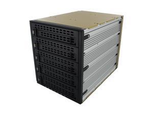 "SNT SNT-SCA3051B 5x3.5"" Hard drive in 3x5.25"" Bay Hot Swap SCSI U320 Backplane RAID cage w/ 80mm fan"