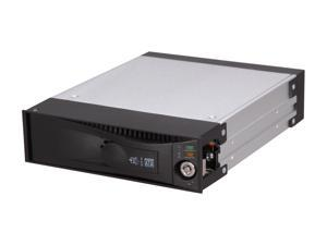 "ICY DOCK MB877IK-B Tray-less Aluminum Body 3.5"" SAS & SATA I / II Mobile Rack Removable Hard Drive Kit"