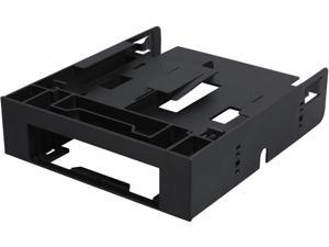 "ICY DOCK FLEX-FIT Trio MB343SP 2 x 2.5"" HDD / SSD to 5.25"" Adapter / Bracket with 1 x 3.5"" Device / Drive Bay"
