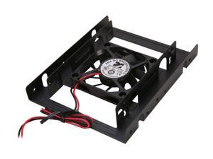 "Rosewill RDRD-11003 2.5"" SSD / HDD Mounting Kit for 3.5"" Drive Bay w/60mm Fan"