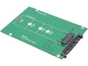 "SYBA SY-ADA40087 Driverless 2.5"" SATA III to M.2 SSD Adapter"