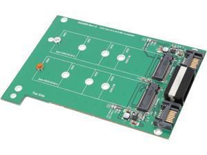 "SYBA SY-ADA40088 3.5"" Dual SATA III to M.2 SSD Adapter"