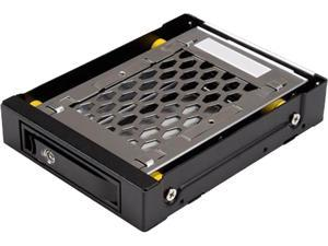 "StarTech SATBP125VP 2.5 SATA Drive Hot Swap Bay - for 3.5"" Front Bay - Anti-Vibration - Front Mount Design - Hard Drive Caddy - Hard Drive Rack"