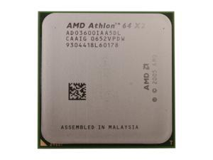 AMD Athlon 64 X2 3600+ 1.9GHz Socket AM2 ADO3600IAA5DL Processor - OEM