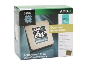 AMD Athlon 64 X2 3600+ 1.9GHz Socket AM2 Processor