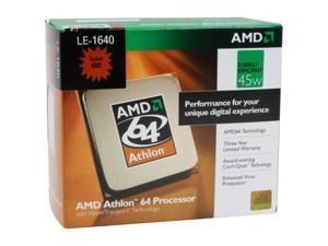 AMD Athlon 64 LE-1640 2.6GHz Socket AM2 Processor