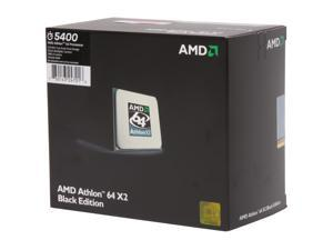 AMD Athlon 64 X2 5400 2.8 GHz Socket AM2 ADO5400DSWOF black edition Processor