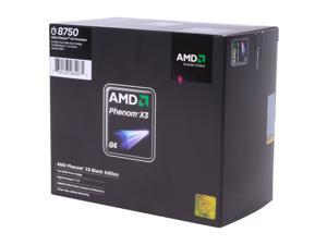 AMD Phenom X3 8750 Black Edition 2.4GHz Socket AM2+ Processor