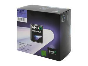 AMD Phenom II X4 920 2.8GHz Socket AM2+ HDX920XCGIBOX Processor
