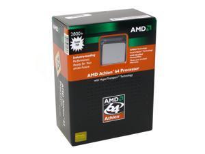 AMD Athlon 64 2800+ 1.8GHz Socket 754 ADA2800BOX Processor