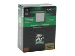 AMD Opteron 275 2.2GHz Socket 940 95W OSA275CBBOX Processor