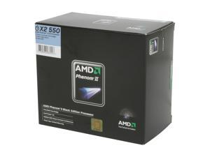 AMD Phenom II X2 550 Black Edition 3.1GHz Socket AM3 Dual-Core Processor