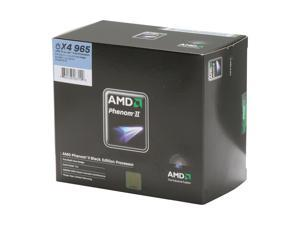 AMD Phenom II X4 965 Black Edition 3.4GHz Socket AM3 Processor