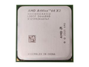 AMD Athlon 64 X2 3800+ 2.0GHz Socket AM2 ADO3800IAA5CU Processor - OEM