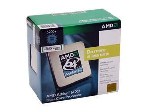 AMD Athlon 64 X2 5200+ 2.6GHz Socket AM2 Processor