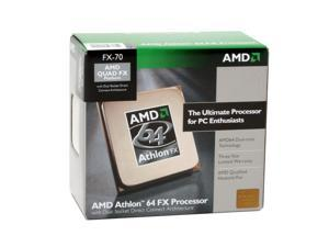 AMD Athlon 64 FX-70 2.6GHz Socket F (1207 FX) DSDC Architecture Processor