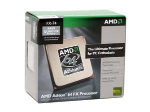 AMD Athlon 64 FX-74 3.0 GHz Socket F (1207 FX) ADAFX74DIBOX Processor