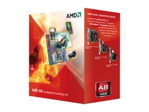 AMD A8-3850 2.9 GHz Socket FM1 AD3850WNGXBOX Desktop APU (CPU + GPU) with DirectX 11 Graphic