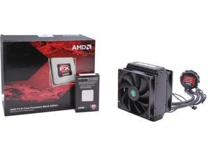 AMD FX-8150 3.6GHz (3.9GHz/4.2GHz Turbo) Socket AM3+ Desktop Processor with Liquid Cooling Kit