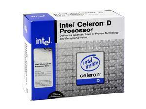 Intel Celeron D 325 2.53GHz Socket 478 BX80546RE2533C Processor