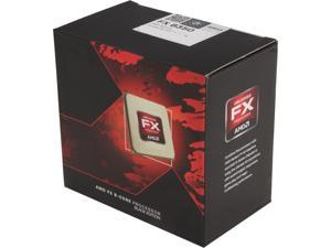 AMD FX-8350 Black Edition Vishera 8-Core 4.0GHz (4.2GHz Turbo) Socket AM3+ 125W Desktop Processor FD8350FRHKBOX