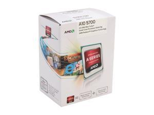 AMD A10-5700 3.4GHz (4.0GHz Turbo) Socket FM2 AD5700OKHJBOX Desktop APU (CPU + GPU) with DirectX 11 Graphic