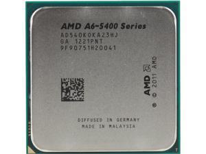 AMD A6-5400K Trinity Dual-Core 3.6 GHz Socket FM2 65W AD540KOKA23HJ Desktop Processor AMD Radeon HD 7540D