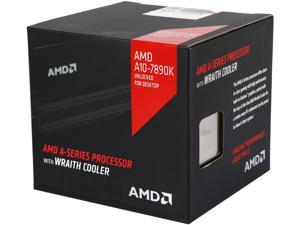 AMD A10-7890K with AMD Wraith cooler Quad-Core Socket FM2+ 95W AD789KXDJCHBX Desktop Processor AMD Radeon R7