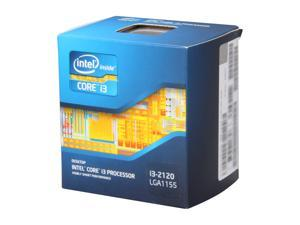 Intel Core i3-2120 Sandy Bridge 3.3GHz LGA 1155 65W Dual-Core Desktop Processor Intel HD Graphics 2000 BX80623I32120