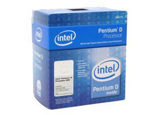 Intel Pentium D 805 2.66GHz LGA 775 BX80551PE2666FN Processor