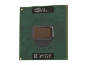 Intel Pentium M 740 Dothan 1.73 GHz Socket 479 Single-Core SL7SA Mobile Processor