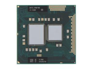 Intel Core i5-520M 2.4GHz (2.93GHz Turbo) Socket G1 35W 594187-002 Mobile Processor