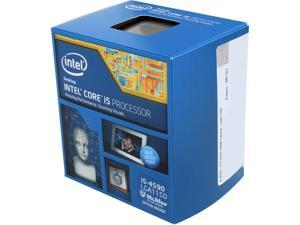 Intel Core i5-4590 Haswell Quad-Core 3.3 GHz LGA 1150 84W BX80646I54590 Desktop Processor Intel HD Graphics 4600