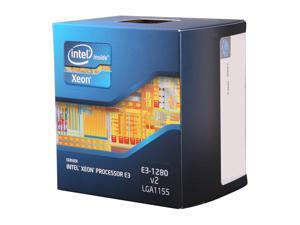 Intel Xeon E3-1280 V2 3.6GHz (4.0GHz Turbo) LGA 1155 69W BX80637E31280V2 Server Processor