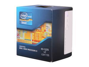 Intel Xeon E3-1225 V2 3.2GHz (3.6GHz Turbo) LGA 1155 77W BX80637E31225V2 Server Processor