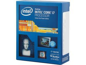 Intel Core i7-5820K Haswell-E 6-Core 3.3 GHz LGA 2011-v3 140W BX80648I75820K Desktop Processor
