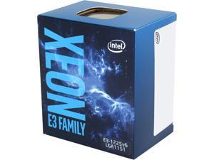 Intel Xeon E3-1225 v6 Kaby Lake 3.3 GHz LGA 1151 73W BX80677E31225V6 Server Processor