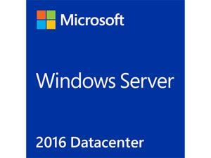 Microsoft Windows Server 2016 Datacenter License and Media 24 Core Box Pack