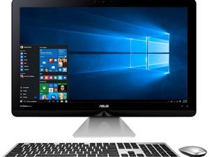 "ASUS All-in-One PC ZN270IEUT-DS51T-CB Intel Core i5 7th Gen 7400T (2.4 GHz) 12 GB DDR4 1 TB HDD 128 GB SSD 27"" Touchscreen Windows 10 Home 64-Bit"