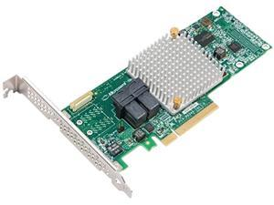 Adaptec Controller Card 2294001-R 12Gb/s 8Port RAID PCIE SAS/SATA LP/MD2 Adapters Retail