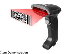 ADESSO 1D/2D HANDHELD CCD BARCODE SCANNER -- DURABLE SILICONE COATING WITHSTANDS IMPA