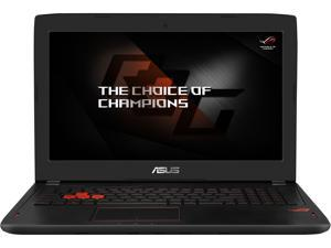"Asus ROG Strix GL502VS 15.6"" G-SYNC VR Ready Thin and Light Gaming Laptop, GeForce GTX 1070 8 GB, Intel Core i7-7700HQ 2.8 GHz (Turbo up to 3.8 GHz), 16 GB DDR4, 256 GB PCIe SSD + 1 TB HDD"