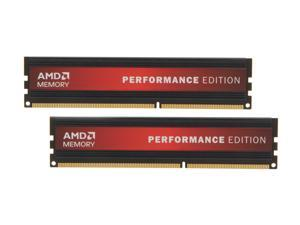 AMD Performance Edition 8GB (2 x 4GB) 240-Pin DDR3 SDRAM DDR3 1600 (PC3 12800) Desktop Memory
